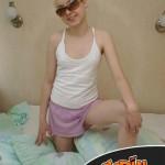 Blonde lisse (1)