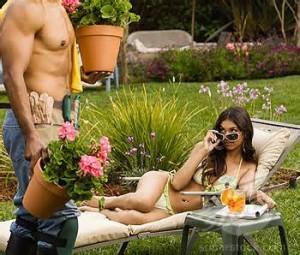 jardinier sexy